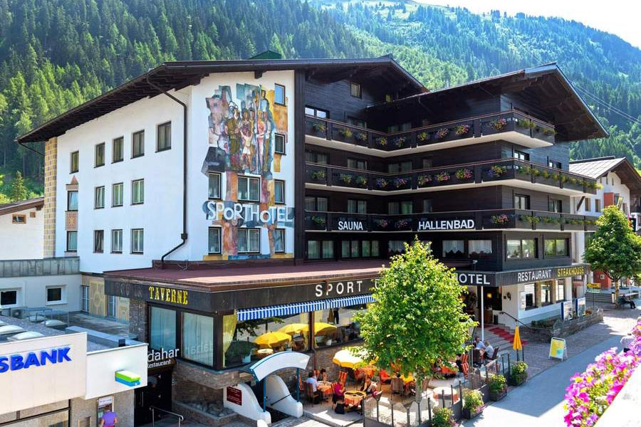 Sporthotel St. Anton – where it's all happening